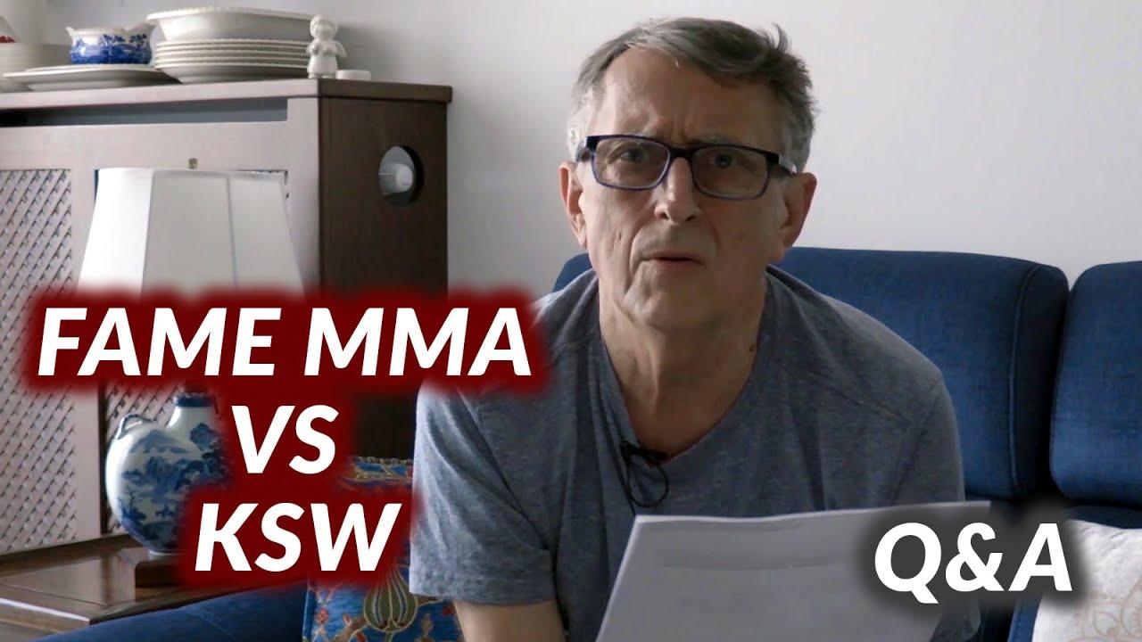 FAME MMA vs KSW: Kto PŁACI WIĘCEJ? l Andrzej Kostyra Q&A