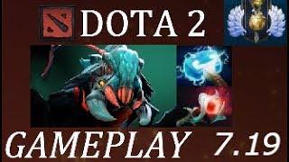 Dota 2 7.19b Weaver Gameplay Commentary Divine Live Stream: http://...