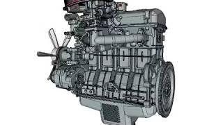 видео Двигатель 417-й модели: особенности, технические характеристики. 417 двигатель характеристики