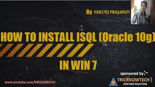 How to install oracle 10g in Windows 7 and windows 8