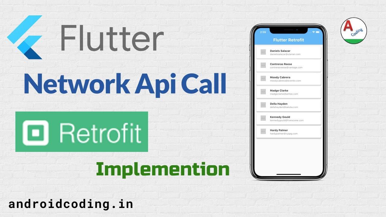 Flutter retrofit implementation | Flutter Network Calls
