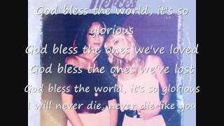 The Pierces - Glorious Lyric Video