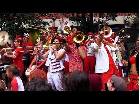 HONK! 2013 - Extraordinary Rendition Band - Oct 12 - Seven Hills Park, Davis Square, Somerville, MA.