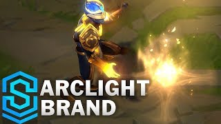 League of legends arclight brand skin spotlight.purchase rp here (amazon affiliate - na): https://amzn.to/2qz3bmvshows off animations and ability effects ...