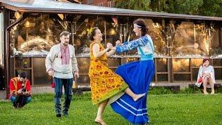 видео Свадьба в русском стиле, оформление и одежда (платье), приглашения и декор