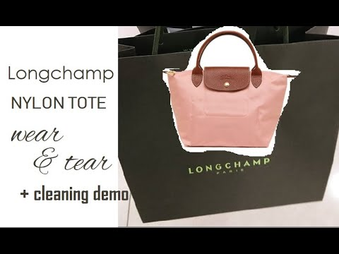 Longchamp Le Pliage Tote Wear & Tear (+cleaning demo)
