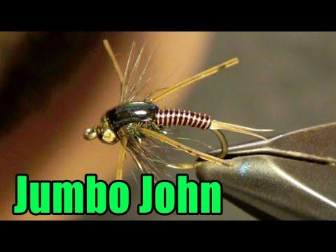Barr's Jumbo John Steelhead Stonefly Fly Tying Directions Instructions