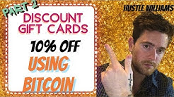 How To BUY 10% Discount Gift Card Using Bitcoin ! #dropshipping #eBay