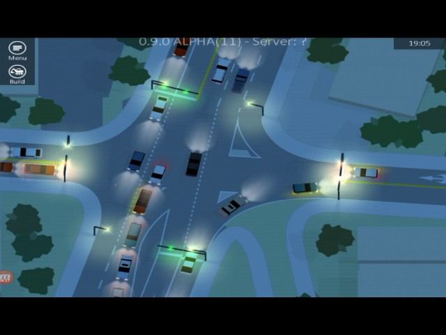 Traffic Lanes 3 - Intersection II Map - Part 1(Macet Parah) (Android Game)