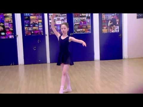 Grade 3 Ballet - RAD Exam Port De Bras. Request video. (9 years)