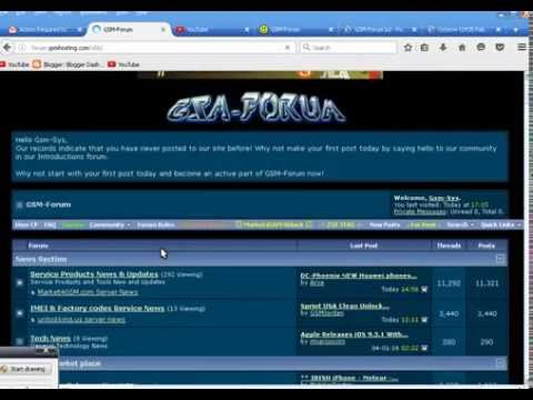 How To Register Gsm forum web Tutorial By Gsm System
