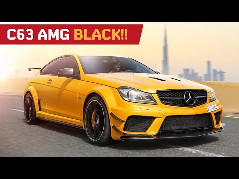C63 Black Series Review!! Tribute in Dubai by Mr.AMG!
