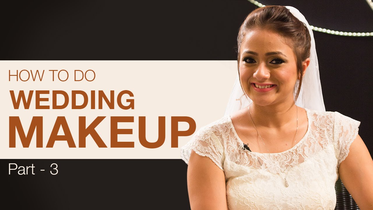 How to Prepare an Indian Bride for Her Wedding - Part 3 | Bridal Makeup Tutorial
