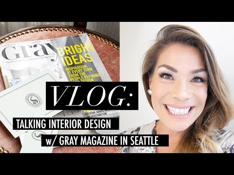 Vlog - Seattle Road trip to speak w/ Gray Magazine