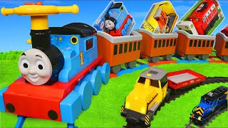 Thomas Train Surprise Toys: Wooden Railway Toy Vehicles, Cars, Trains & Trucks for Kids