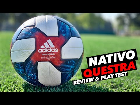 ADIDAS NATIVO QUESTRA OFFICIAL MATCH BALL | REVIEW & PLAY TEST 🔥