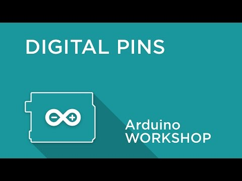Arduino Workshop - Chapter Two - Using Digital Pins