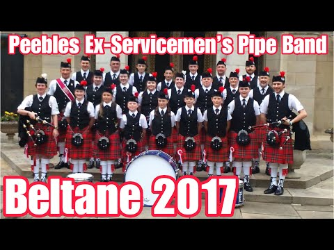 PEEBLES EX-SERVICEMEN'S PIPE BAND - 2017