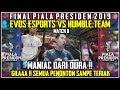 EVOS VS HUMBLE.TEAM - MATCH 2 | PIALA PRESIDEN ESPORTS 2019 - MOBILE LEGENDS INDONESIA