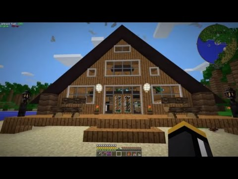 FTB Infinity - E17 - Vacation House Build & Quantum Network