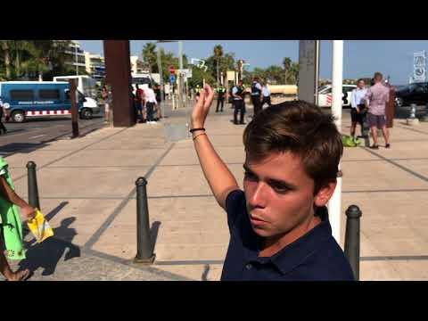 El pamplonés Pablo Sanzol, testigo directo del atentado de Cambrils