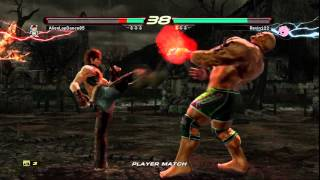 Tekken 6 Online Player Match AlienLapDance85 (Marduk) vs Revin122 (Hwoarang)