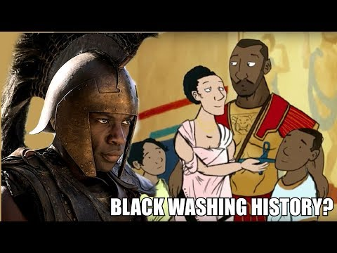 Black Washing History? Troy & BBC Cartoon Debunking