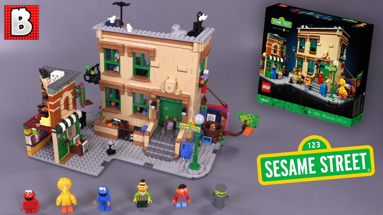 LEGO IDEAS 123 Sesame Street Set 21324 |  Review