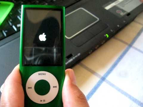 how to turn off ipod nano 5g youtube. Black Bedroom Furniture Sets. Home Design Ideas
