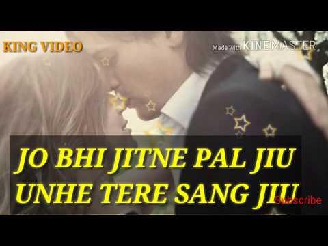 JO BHI JITNE PAL JIU USSE TERE SANG JIU(💓 Heart Touching Song) Whatsaap Status