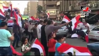 رقص بلدي و«تسلم الأيادي» في احتفالات أهالي المطرية بـ«تحرير سيناء»