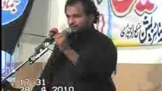 zakir Malik Ali Raza Khokhar Sahiwal Sargodha 28th april 2010 shah allah dittah part2.flv