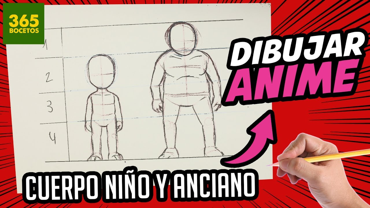 Como Dibujar Anime Facil Como Dibujar Cuerpo Completo Cuerpo