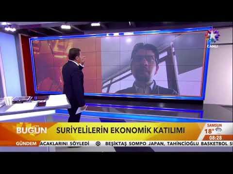 Türkiye'de Suriyeliler Algısı Raporu, Celal Pir ile Bugün'de Anlatıldı.