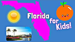 Florida for Kids | US States Learning Video