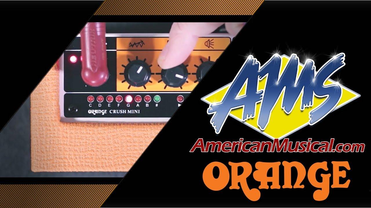 Orange Crush Mini Demo - American Musical Supply