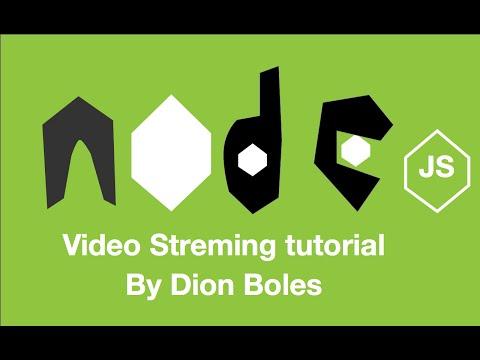 Simple Node Js Video Stream