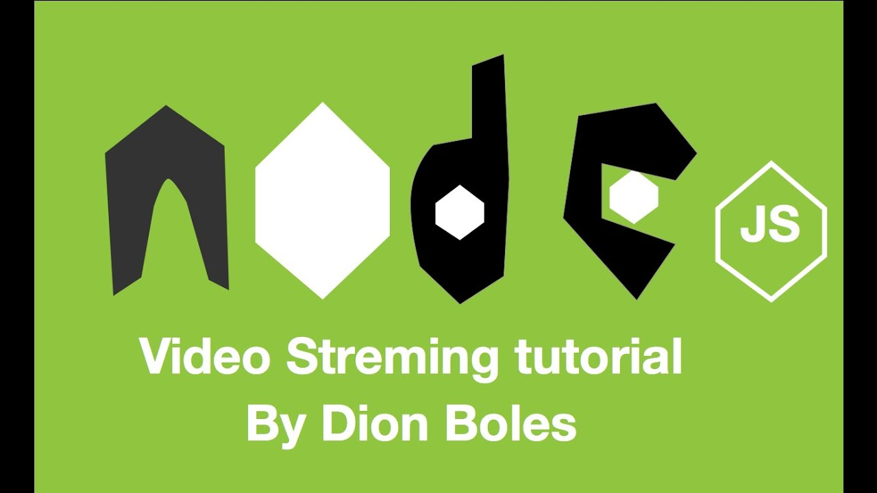 Simple Node js video stream