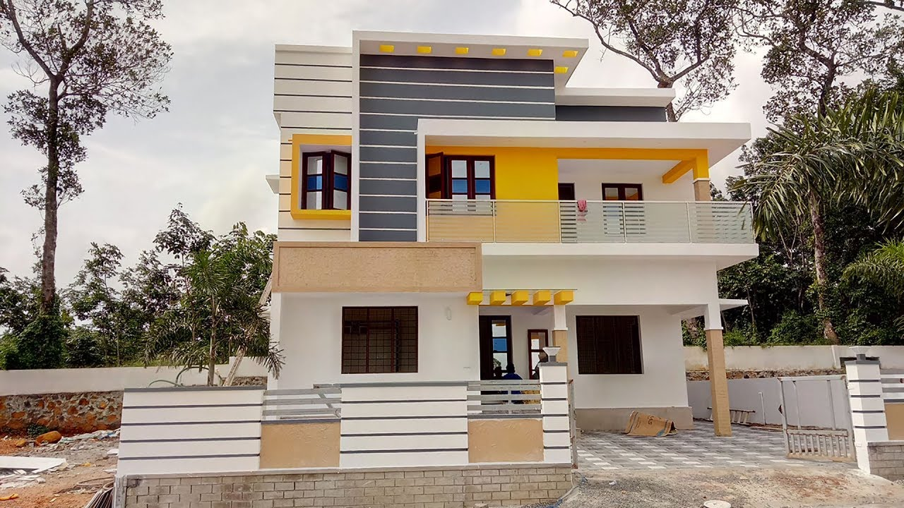 Brand New House For Sale 50 Lakh 1650 Sqft 3 Bhk Hosue In 5 Cent Land For Sale Perumbavoor