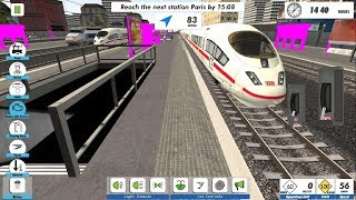 Best Train Games for Android 2018 - Euro Train Sim 2 | Euro Train Simulator 2 - Android GamePlay