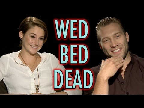 Divergent Cast Plays Wed, Bed, Dead! Shailene Woodley