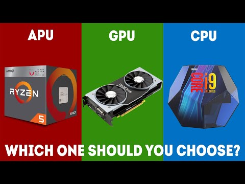 APU Vs CPU Vs GPU - What's The Difference? (2019) [Simple Guide]