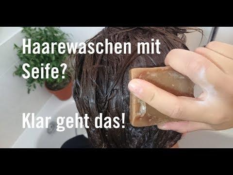Haare mit normaler seife waschen