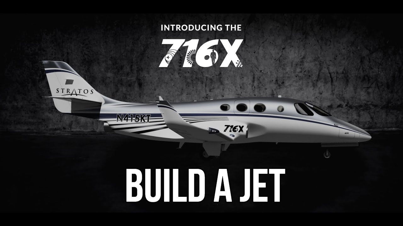 Stratos Jet Can now Be Built As A Kit