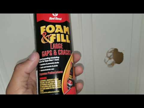 How to Fix Hole in Hollow Door