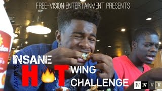 Insane Hot Wings Challenge!