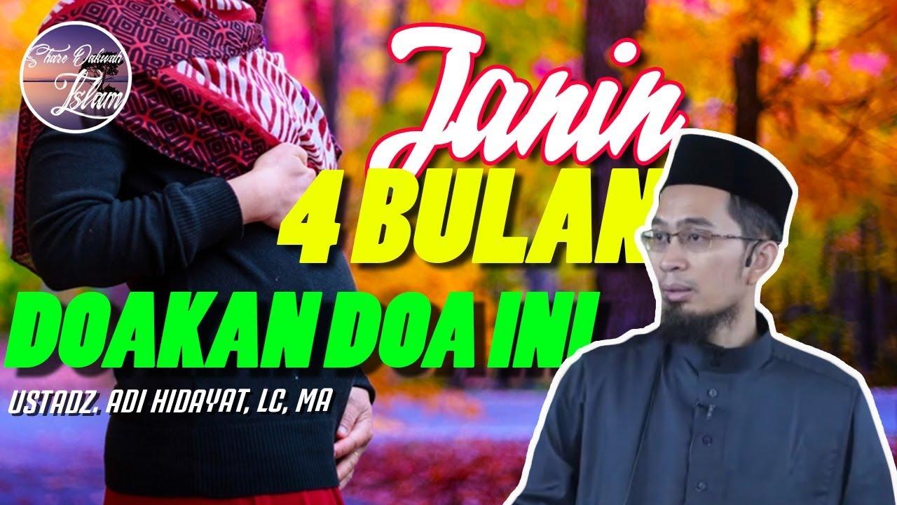 Doa Untuk Janin 4 Bulan Ustadz Adi Hidayat Youtube
