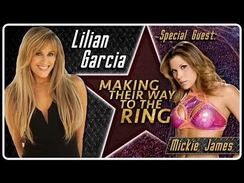 Mickie James Interview | AfterBuzz TV's Lilian Garcia: Making Their Way To The Ring