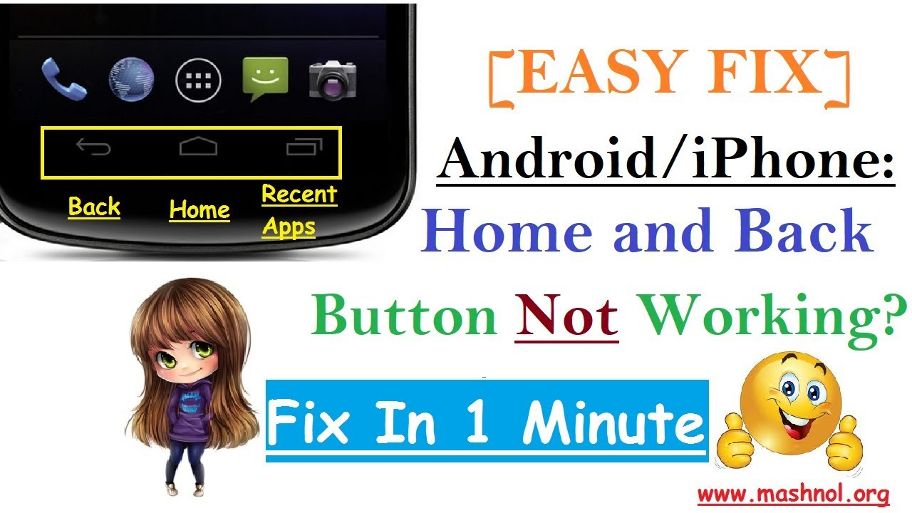 Easy Fix] Android Home and Back Button Not Working? - Mashnol
