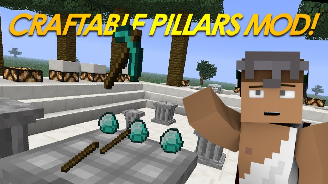 Crafting Pillars Mod